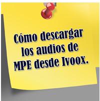 Nota Descarga Audios MPE