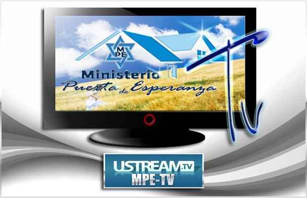 MPE TV EN  USTREAM